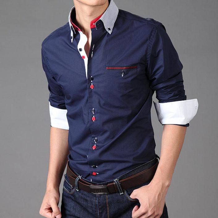 Модная рубашка для мужчины