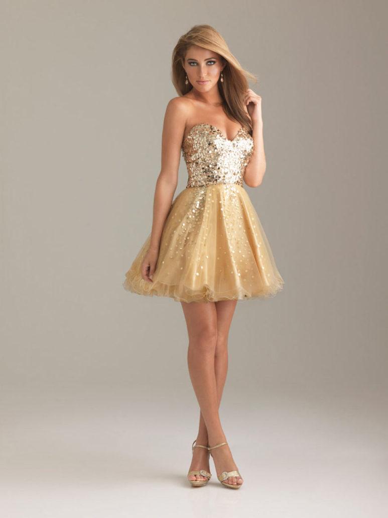 Фото девушек в нарядных платьях