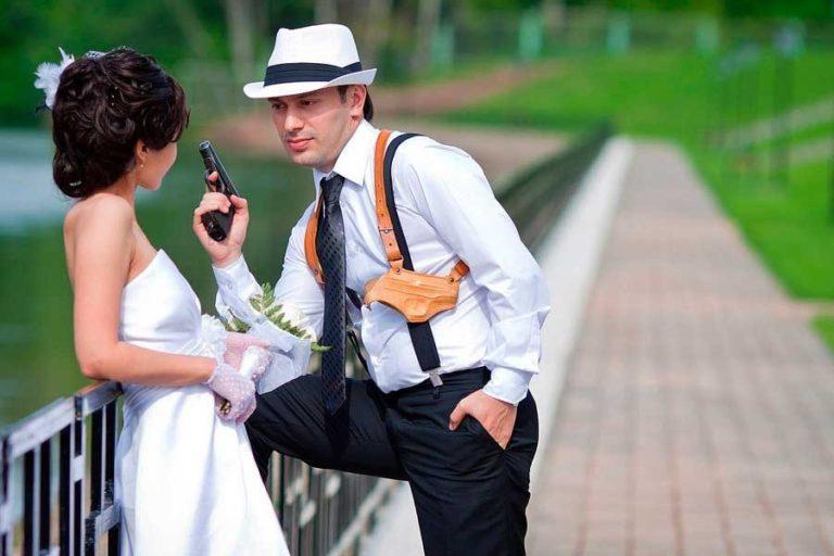 Поздравления от мафии на свадьбу