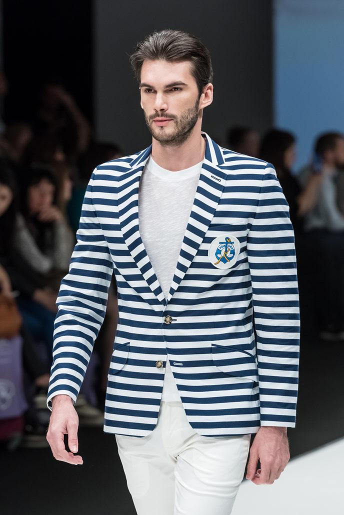 Модный стильный мужской образ